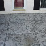 Tuscan Slate Stained Concrete Patio