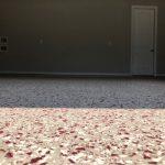 Epoxy Color Flake Concrete Garage Flooring
