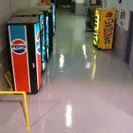 Resinous 123 Flooring Vending Machine Area